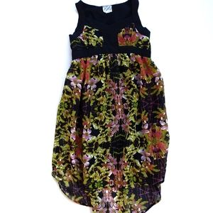 D-SIGNED Sleeveless Floral Dress Size XS